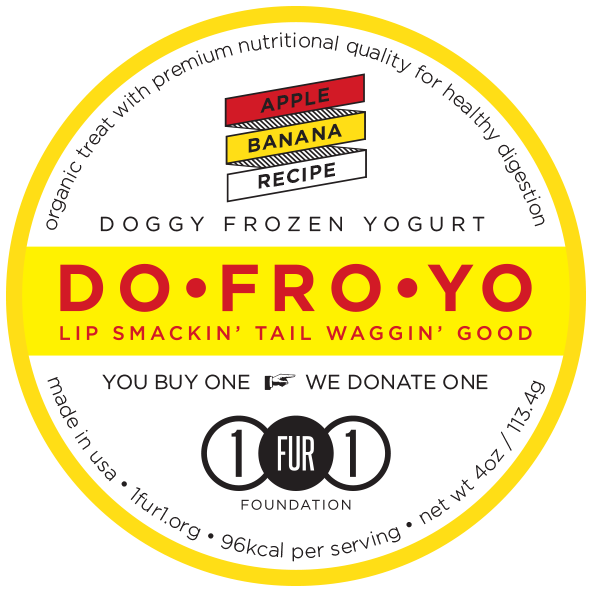 Doggy Frozen Yogurt Apple Banana Recipe