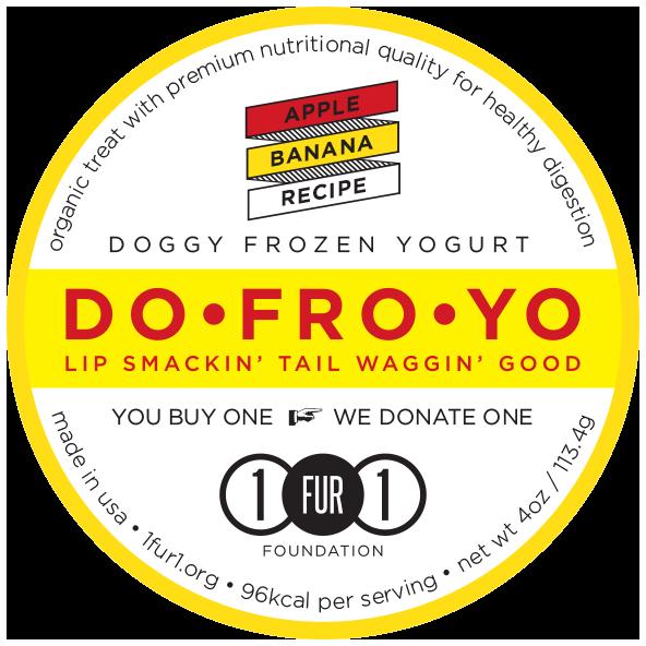 Doggy Frozen Yogurt Apple Banana Recipe