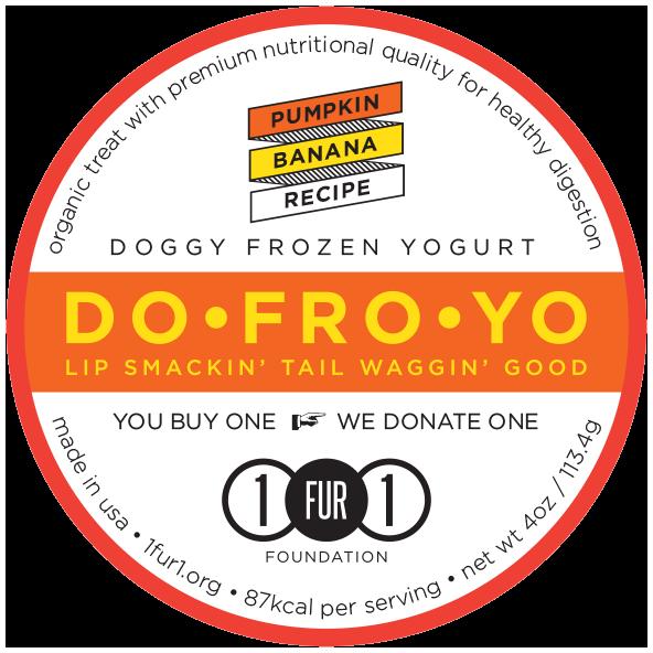 Doggy Frozen Yogurt Pumpkin Banana Recipe