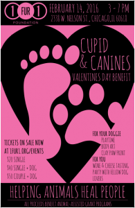Cupid and Canines Valentine's Day Benefit 2016