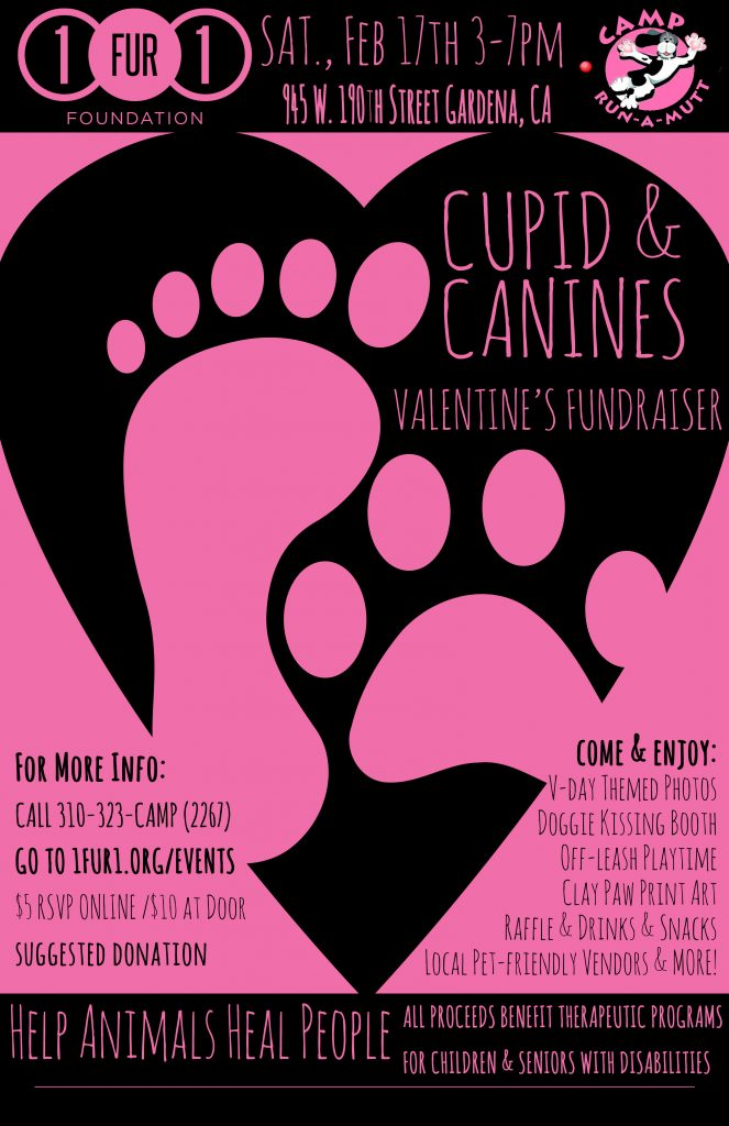 cupid & canines event 2018 1fur1