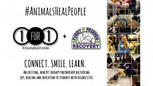 1fur1 + FFR therapy dog program launch